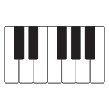 Sheet music and educational materials for piano