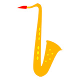 Sheet music and educational materials for tenor saxophone