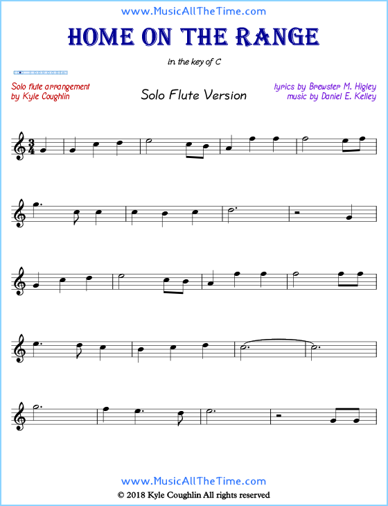 photograph about Printable Flute Sheet Music referred to as Property upon the Assortment Flute Sheet Songs