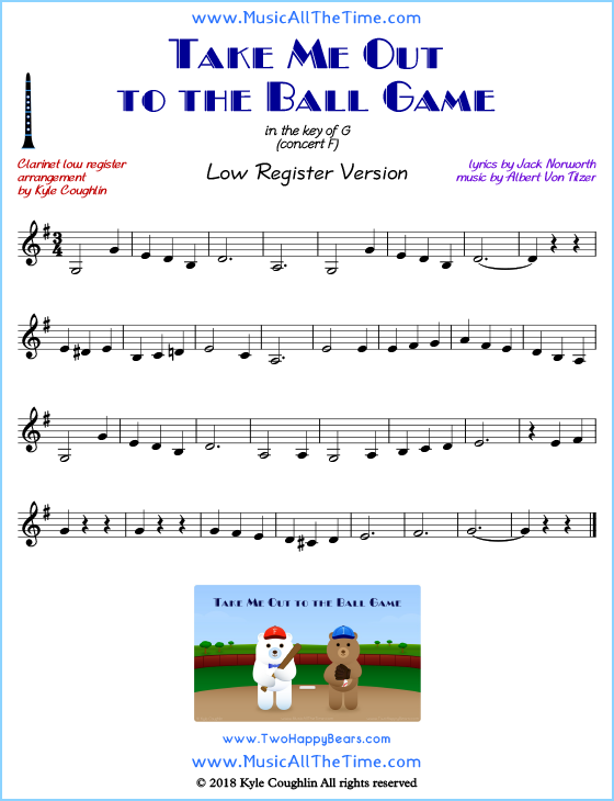 28+ Take Me Out To The Ball Game Trumpet Sheet Music Background